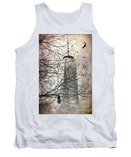 Tank Top featuring the photograph Memorial by Judy Wolinsky