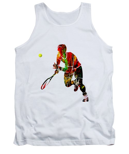 Mens Tennis Collection Tank Top by Marvin Blaine