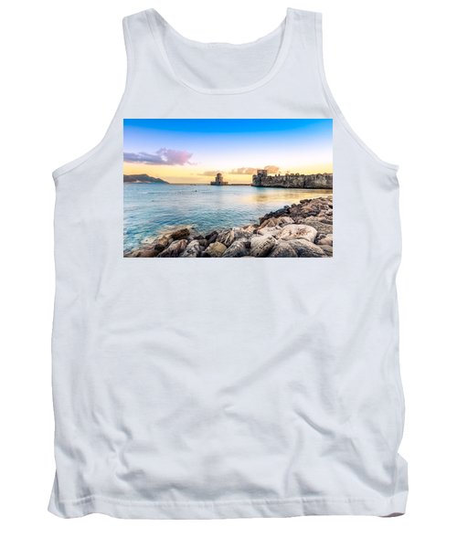 Methoni's Castle / Greece. Tank Top by Stavros Argyropoulos
