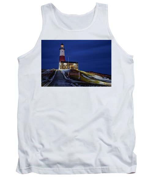 Tank Top featuring the photograph Montauk Point Lighthouse by Susan Candelario