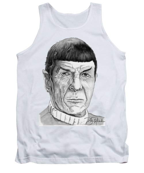 Mr Spock Tank Top