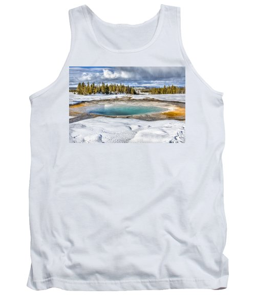 Nature's Painting Tank Top by Yeates Photography