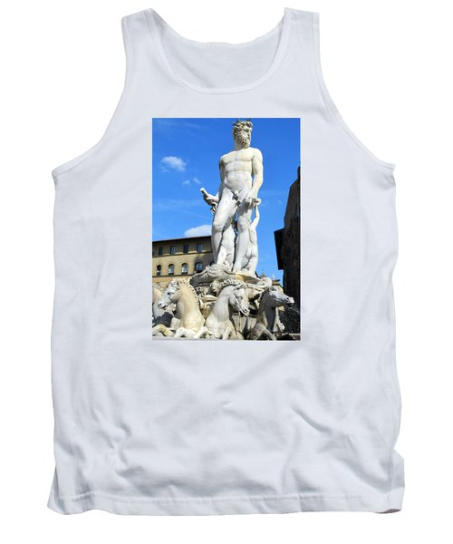 Neptune Fountain Florence Tank Top by Lisa Boyd