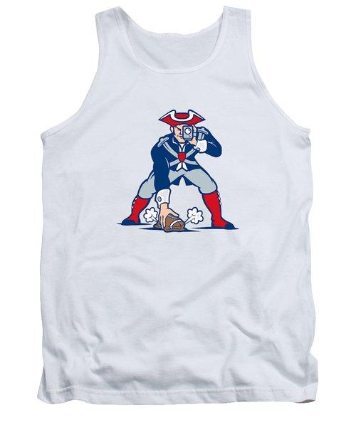New England Patriots Parody Tank Top by Joe Hamilton