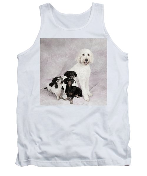 Fur Friends Tank Top by Erika Weber
