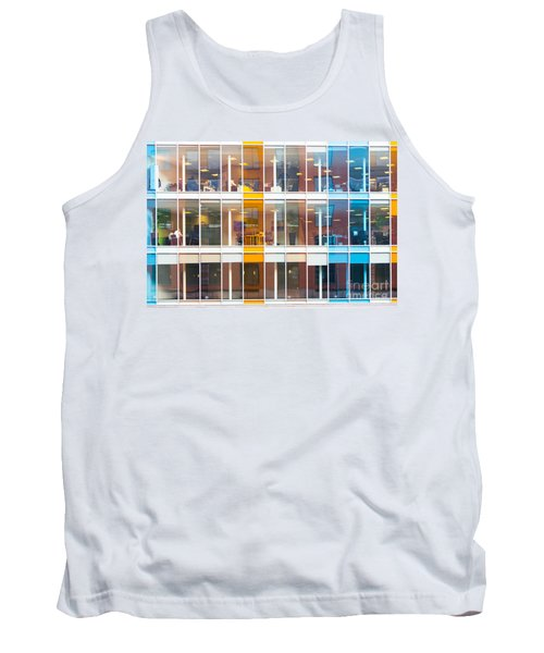 Office Windows Tank Top by Colin Rayner