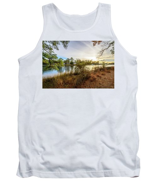 Over The River Tank Top