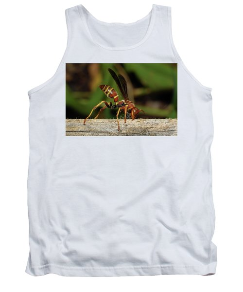 Paper Wasp Tank Top