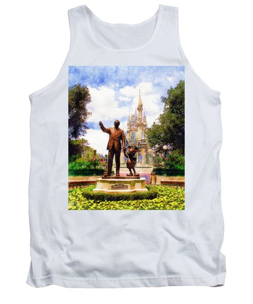 Partners Tank Top by Sandy MacGowan