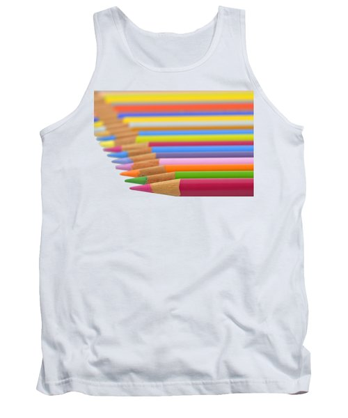 Tank Top featuring the photograph Pencils by George Atsametakis