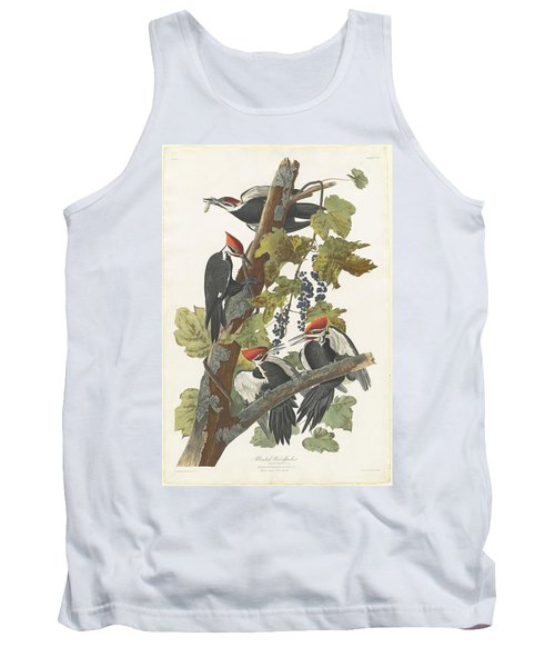 Pileated Woodpecker Tank Top by John James Audubon