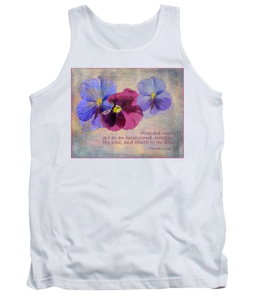 Pleasant Words Tank Top