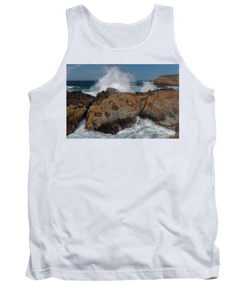 Point Lobos Concretions Tank Top by Glenn Franco Simmons