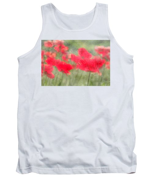 Poppies Tank Top by Catherine Alfidi