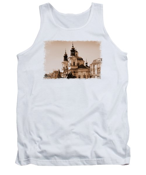 Old Memories Of Prague Tank Top