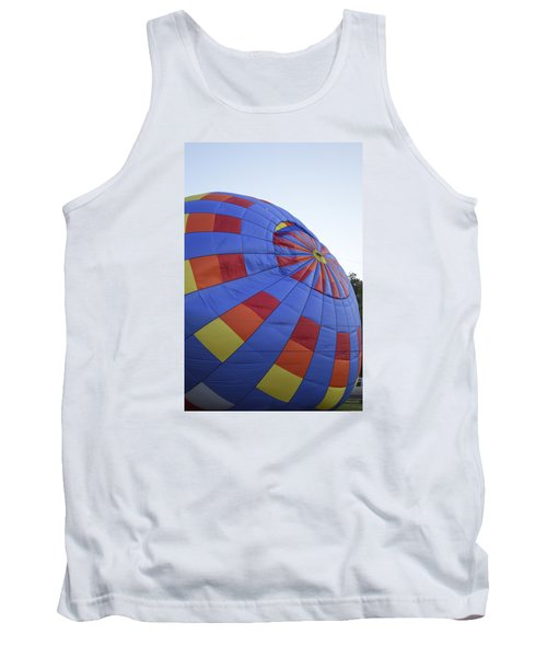 Tank Top featuring the photograph Preparing For Lift Off by Linda Geiger