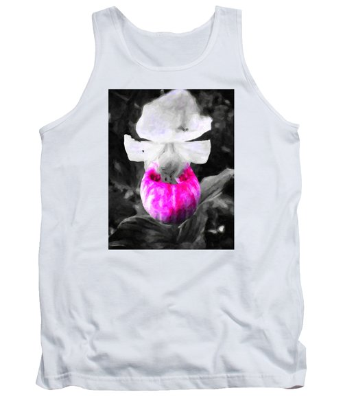 Pretty In Pink Tank Top by Andre Faubert
