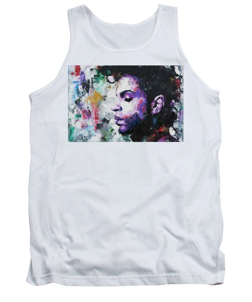 Prince Tank Top by Richard Day