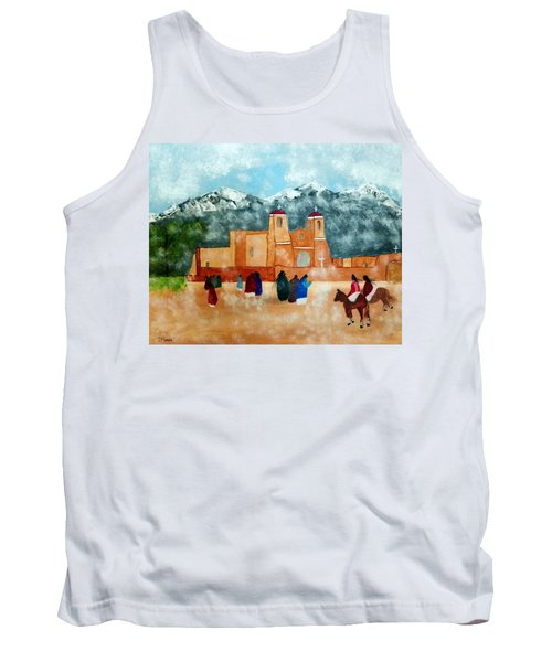 Pueblo Church Tank Top