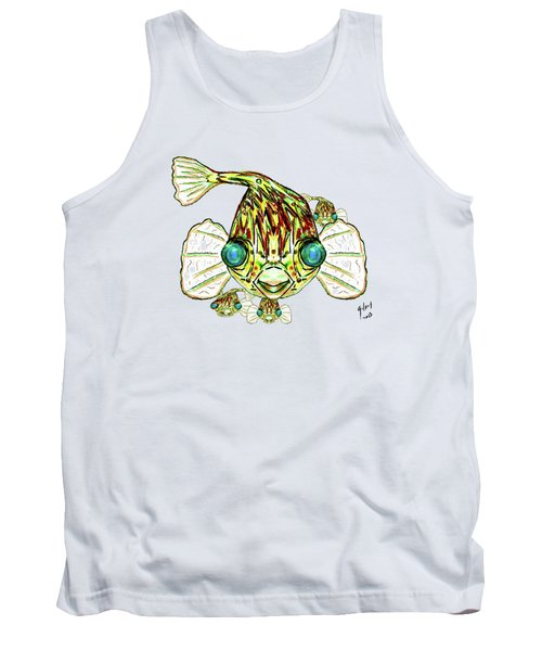 Puffer Fish Tank Top by W Gilroy