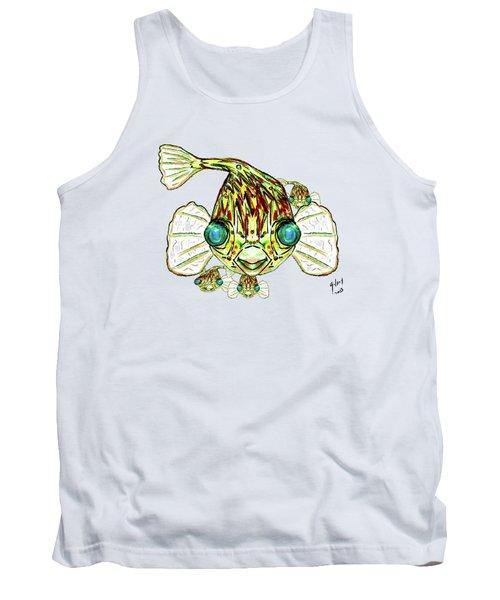 Puffer Fish Tank Top