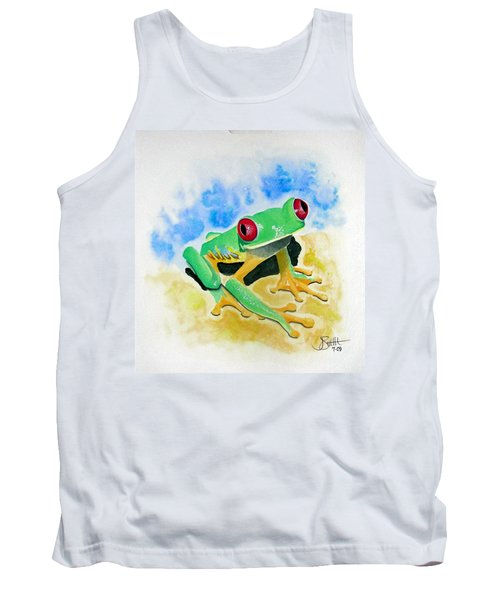 Red Eyed Tree Frog Tank Top