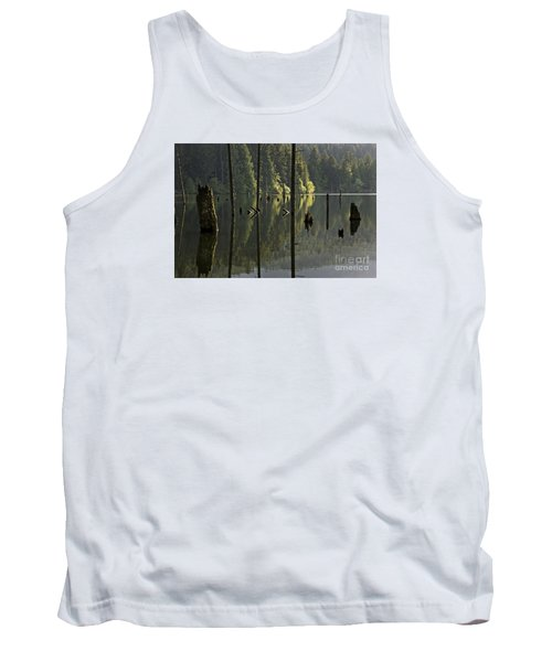 Tank Top featuring the photograph Reflections by Inge Riis McDonald