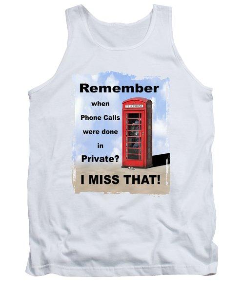Remember When . . . Tank Top