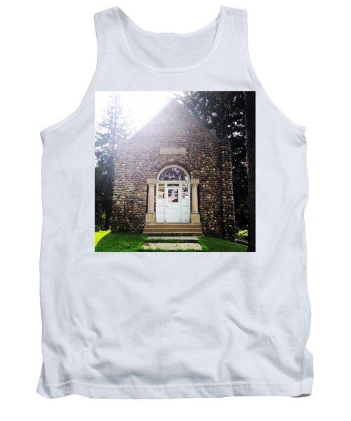 Riverside Cemetery Chapel Tank Top