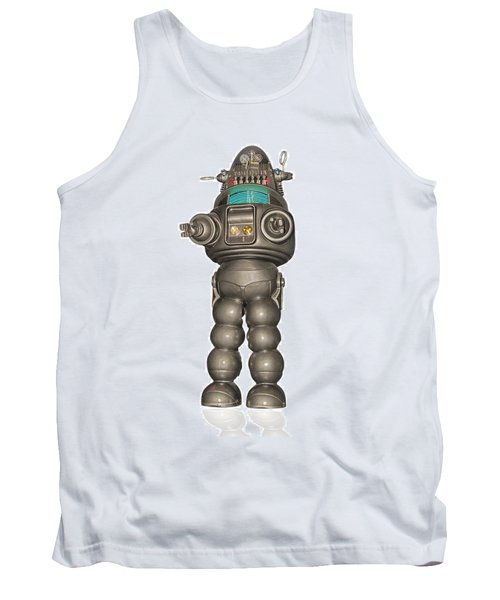 Robby The Robot Tank Top
