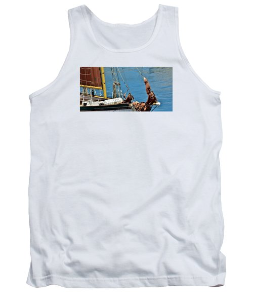 Sail Boat Tank Top by Werner Lehmann