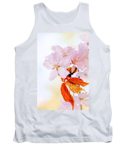 Tank Top featuring the photograph Sakura - Japanese Cherry Blossom by Alexander Senin