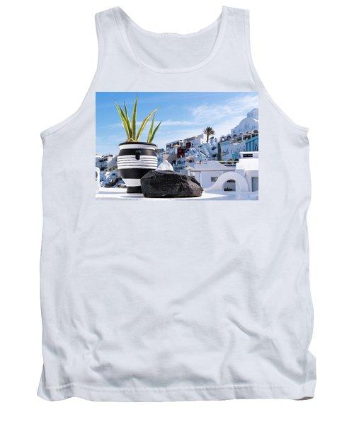 Santorini - Greece Tank Top