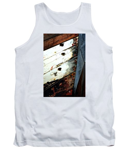 Tank Top featuring the photograph Ship Shape by Newel Hunter