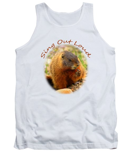 Tank Top featuring the photograph Sing Out Loud by Greg Norrell