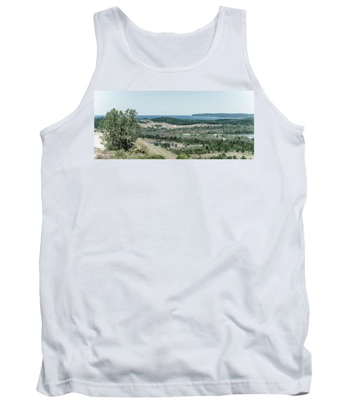 Tank Top featuring the photograph Sleeping Bear Dunes National Lakeshore by Alexey Stiop
