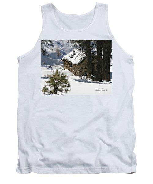 Snow Cabin Tank Top
