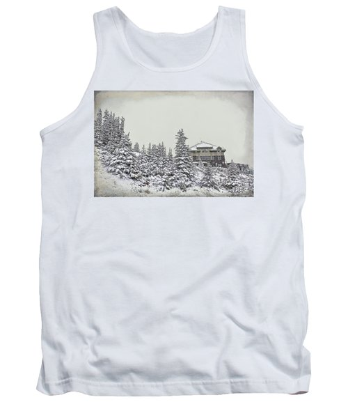 Tank Top featuring the photograph Snow In July by Teresa Zieba