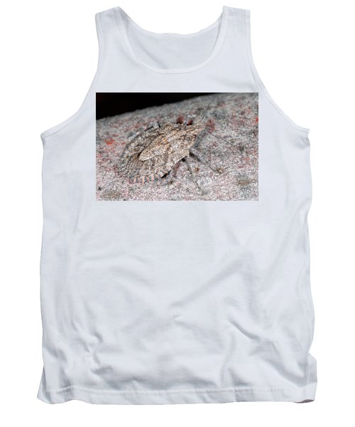 Tank Top featuring the photograph Stink Bug by Breck Bartholomew