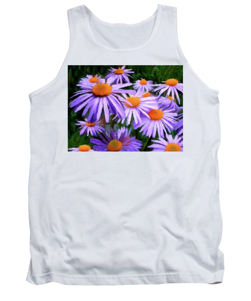 Tank Top featuring the painting Summer Dreaming by David Dehner