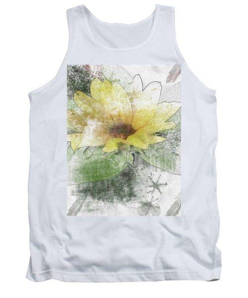 Sunflower Canvas Tank Top