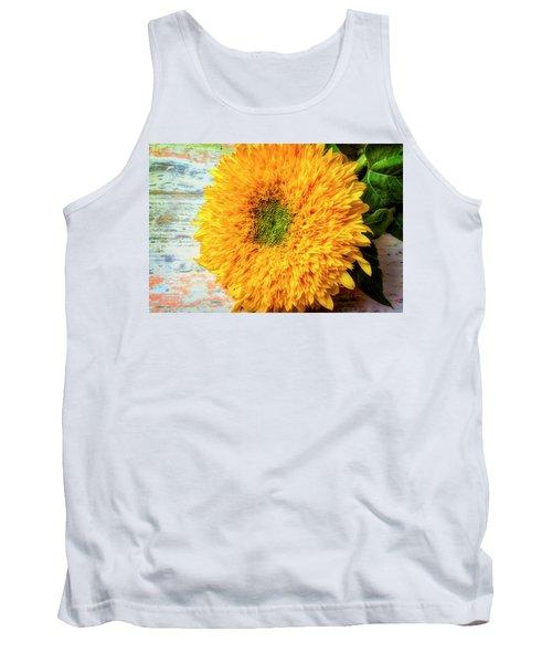 Sunflower Study Tank Top