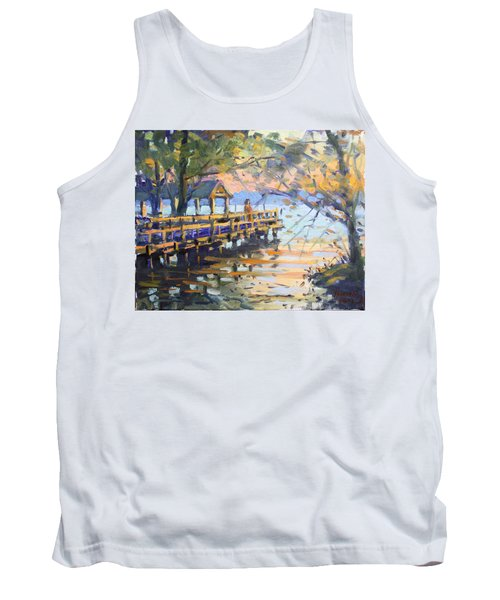 Sunset At Fishermans Park Tank Top