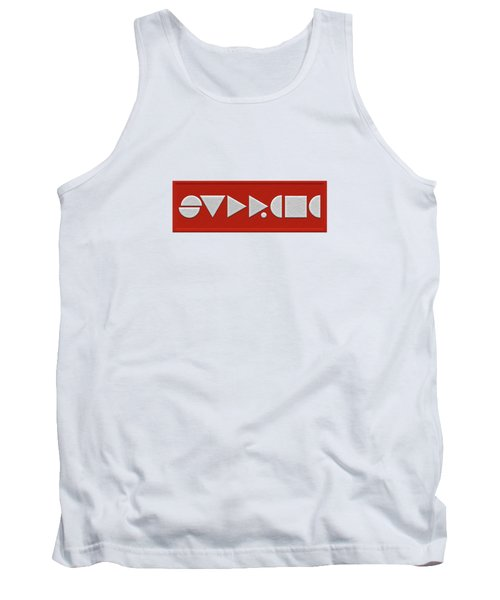Supreme Being Embroidered Abstract - 1 Of 5 Tank Top