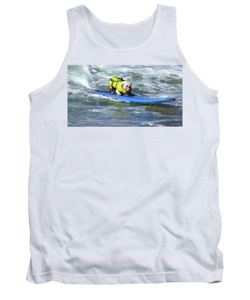Surfing Dog Tank Top