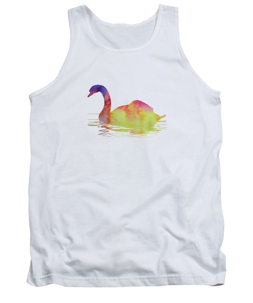 Swan Tank Top by Mordax Furittus
