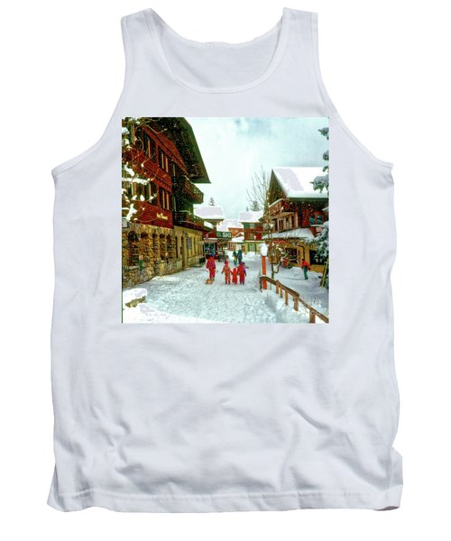 Switzerland Alps Tank Top