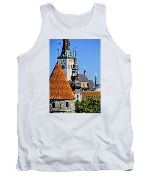 Tallinn Steeples Tank Top