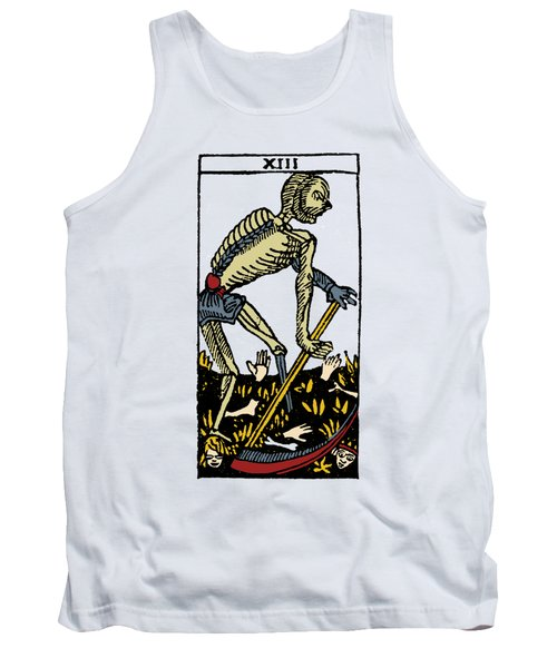 Tarot Card Death Tank Top