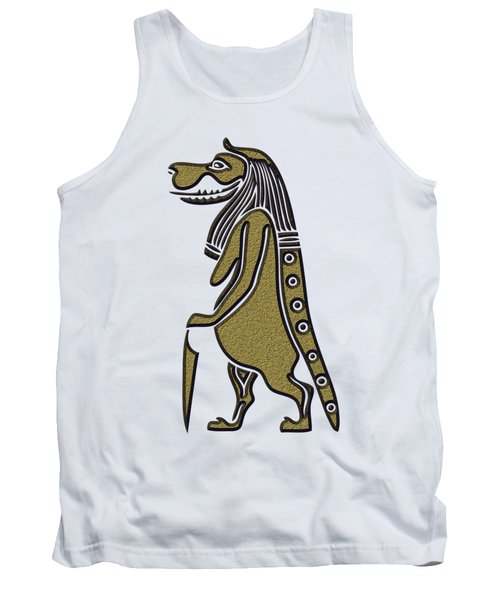 Taweret - Mythical Creature Of Ancient Egypt Tank Top
